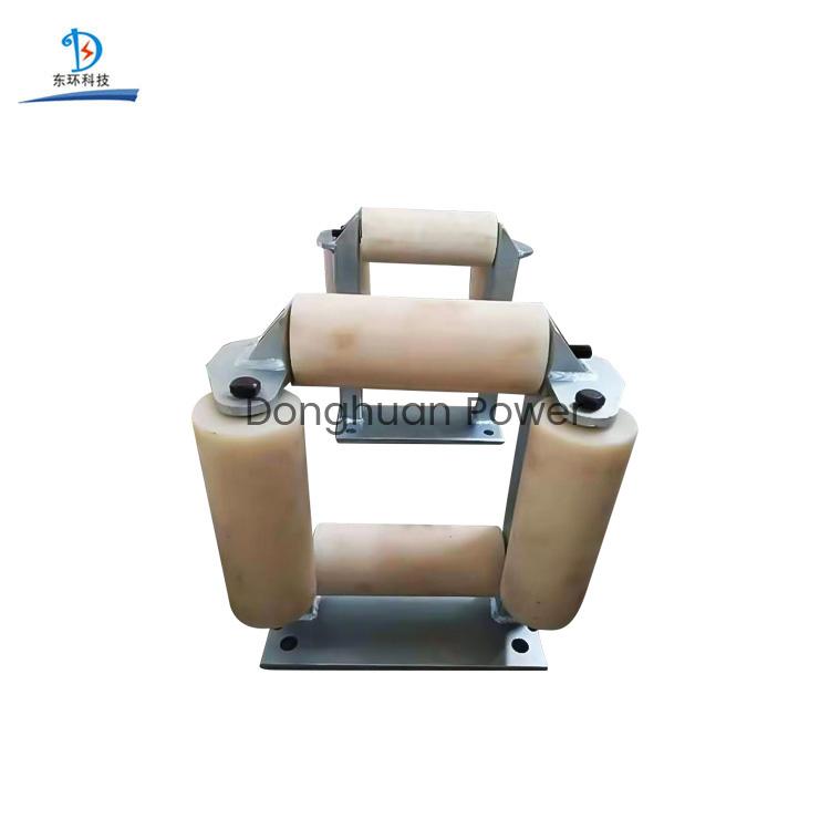 Línea de transmisión de 185 mm Rodillos de aluminio o Rodillos de nylon Cable de extracción Ventana Rodillo Polea Bloque