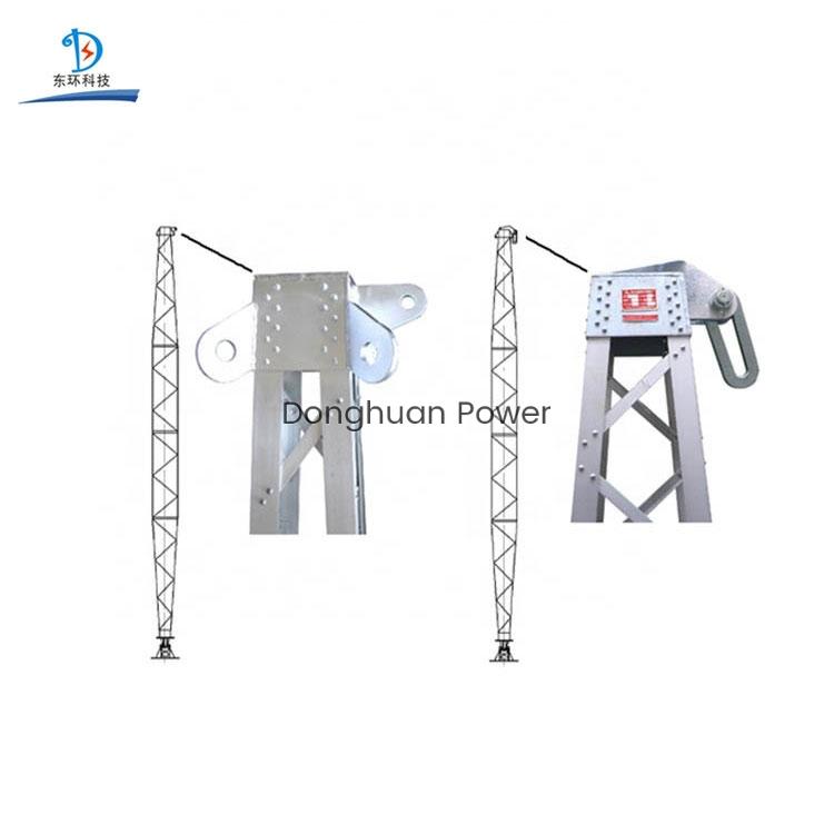 Aleación de aluminio poste eléctrico de la ginebra para la erección de la torre poste eléctrico del hormigón