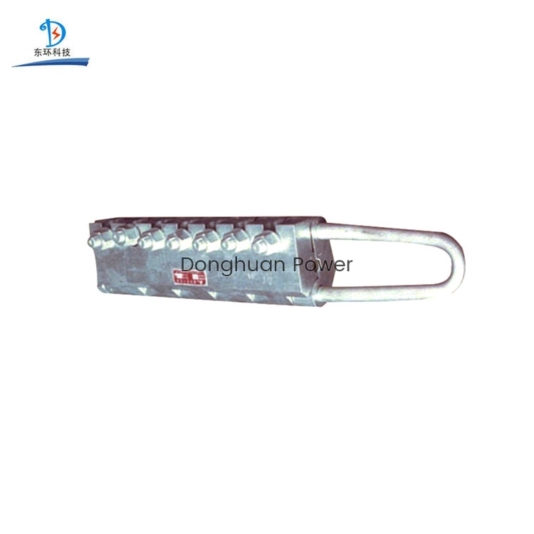 Tipo de perno Anti-torcedura de alambre Pinza de cuerda de acero Abrazadera para construcción de tracción de cable