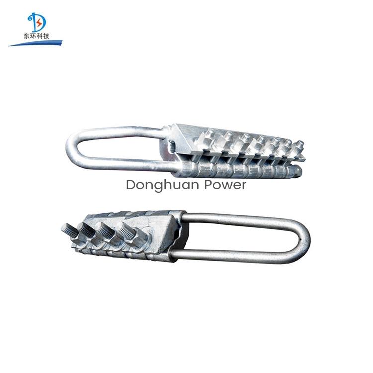 Tipo de perno Filamento redondo Agarraderas de cable de acero Abrazadera de sujeción lateral para apriete