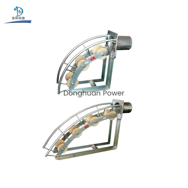 Serie C SHL150C Tres rodillos Diámetro del tubo de 150 mm Rodillo de polea de cable subterráneo