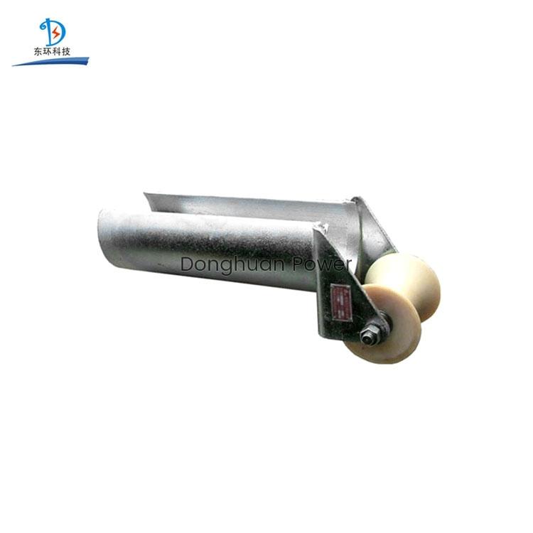 Rodillo de protección de entrada de encadenamiento de la serie D de Donghuan, rodillo de cable de acero eléctrico