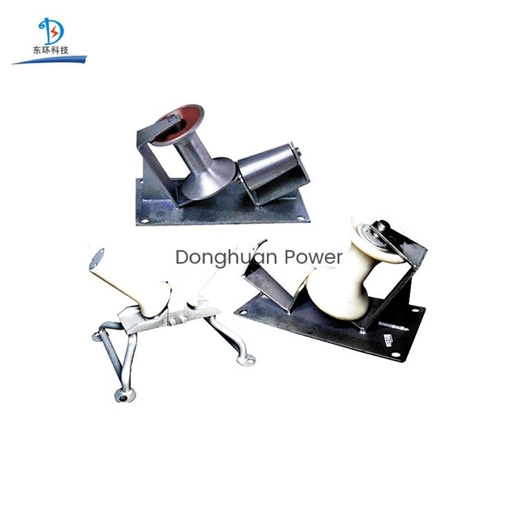 Rodillo de tambor de cable de torneado de nylon o aluminio eléctrico de Donghuan