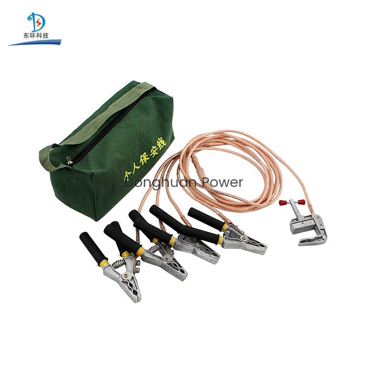 Equipo de puesta a tierra Cable de tierra portátil Cable de conexión a tierra de seguridad personal