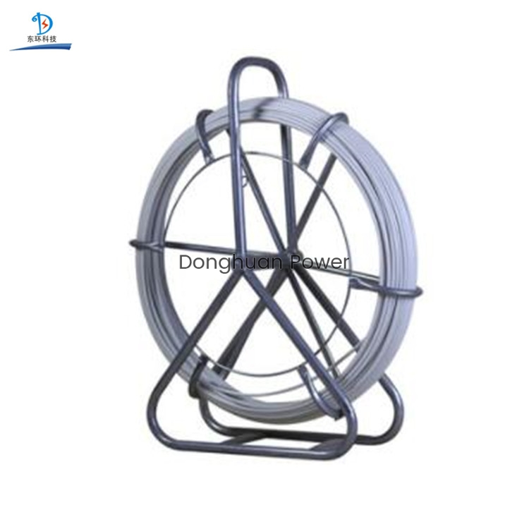 Línea de transmisión Cinta de pescado de varilla de alambre de fibra de vidrio para tirar del cable