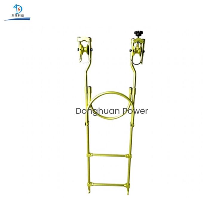 Carritos de inspección de escalera de cuerda colgante para aislamiento de cuerda colgante