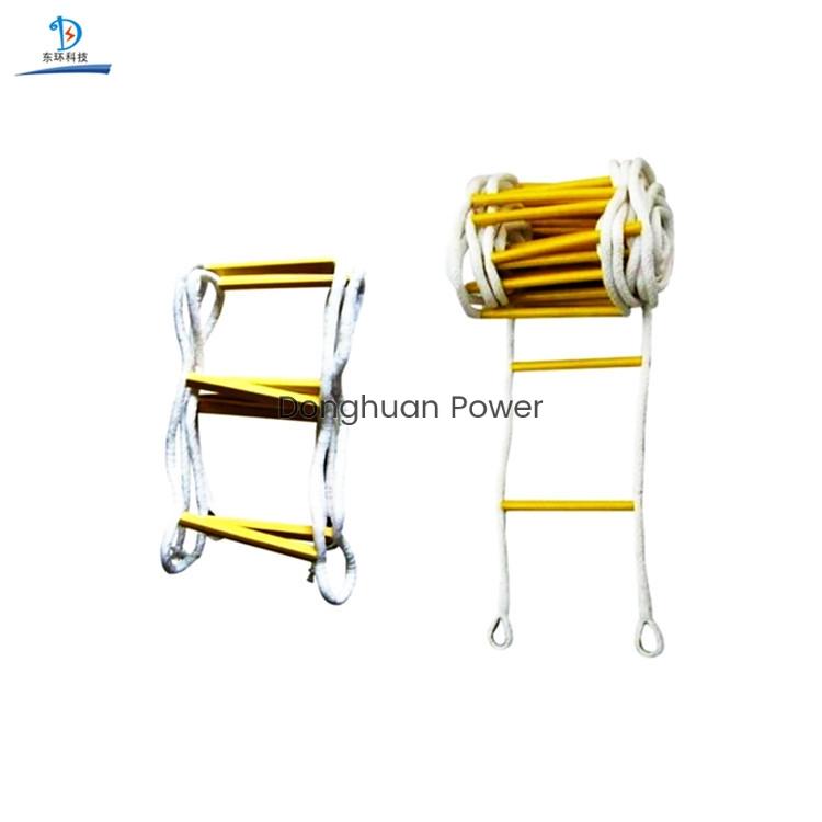 Escalera de aislamiento de alta calidad Escalera de cuerda colgante de alta resistencia para escalar