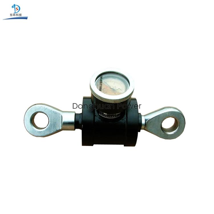El tensiómetro hidráulico utiliza para pesar y probar la fuerza mecánica