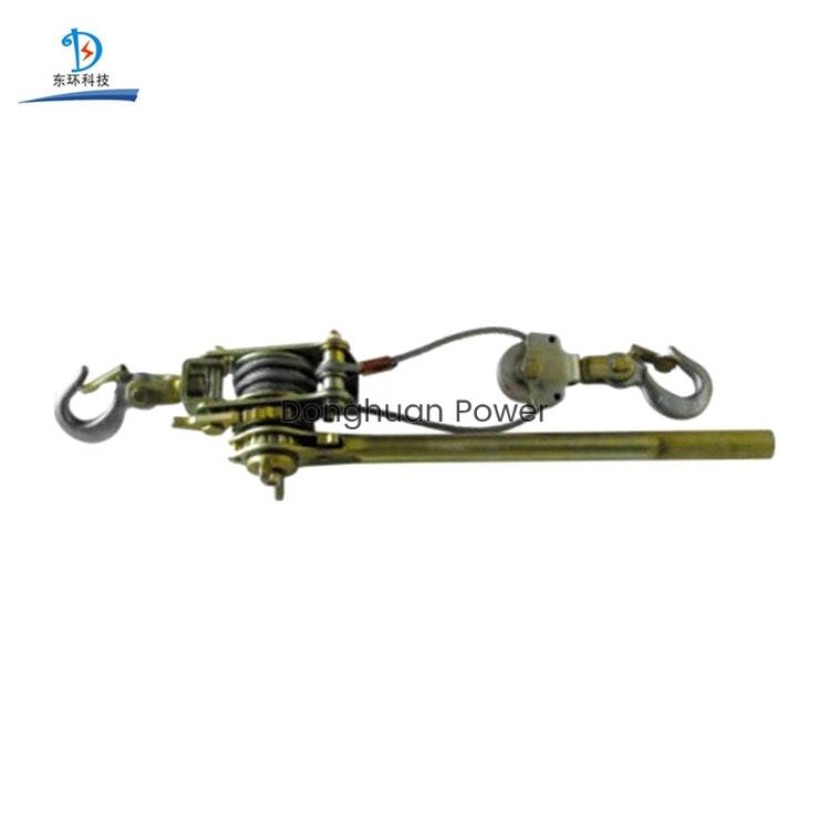 Herramientas de elevación Tornillo de cuerda de alambre de trinquete manual Extractor de cable manual de extracción