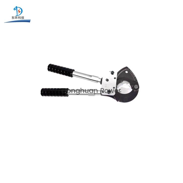 Modelo J30 Manual de acero eléctrico Herramienta de corte de cable de alambre cortador de cable de trinquete manual