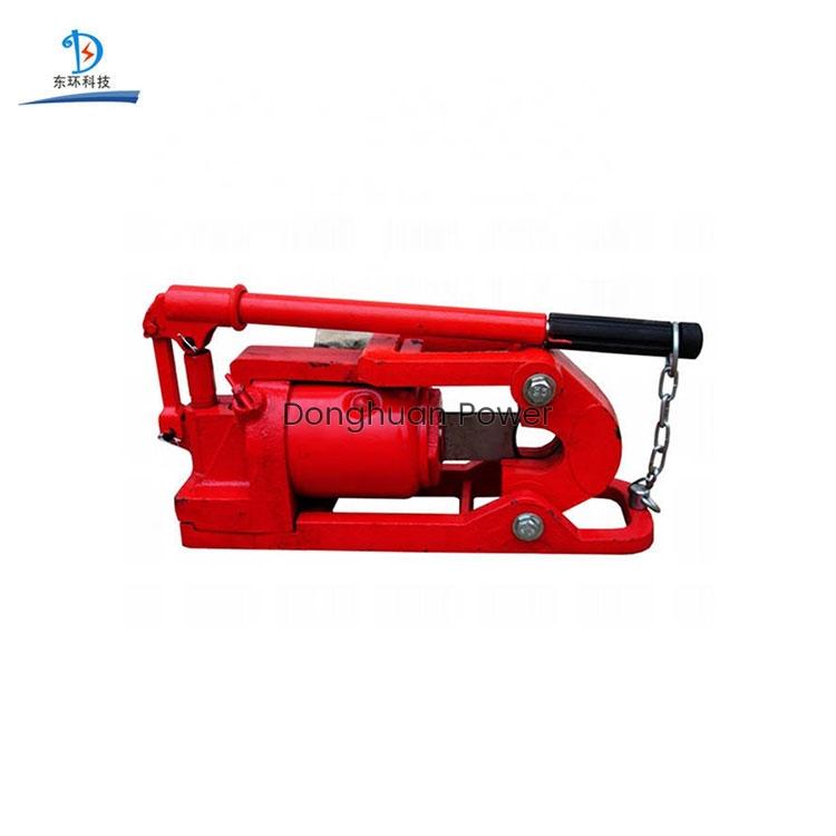 Modelo QY-30 herramienta de corte hidráulico cable de alambre / cable cortador de tubería de acero hidráulico