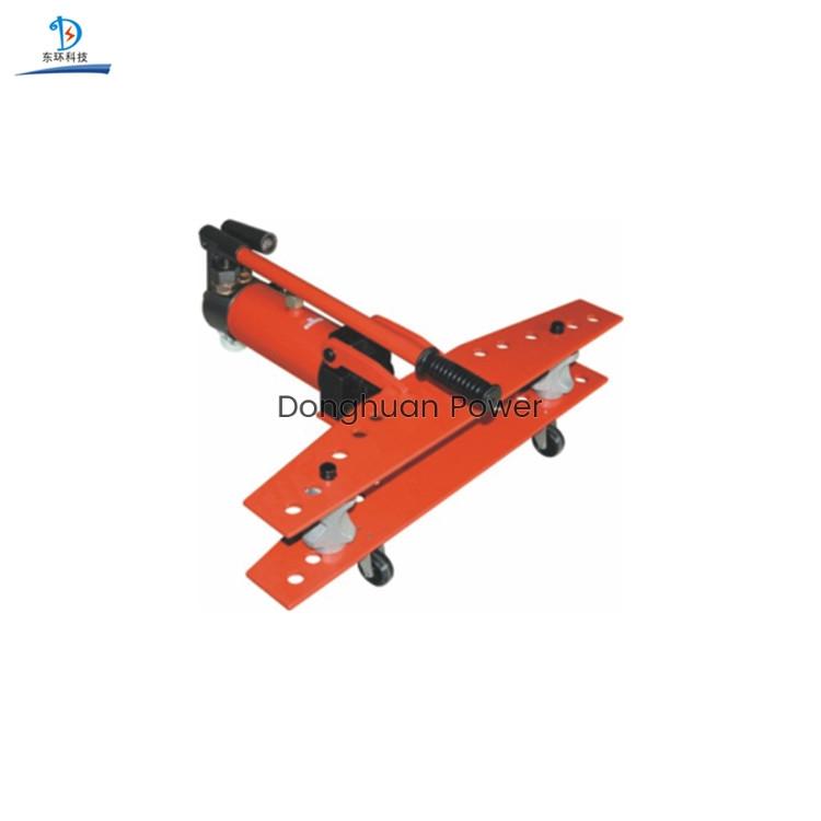 Dobladora de tubos hidráulica eléctrica portátil modelo SWG-25 Dobladora de barras manual