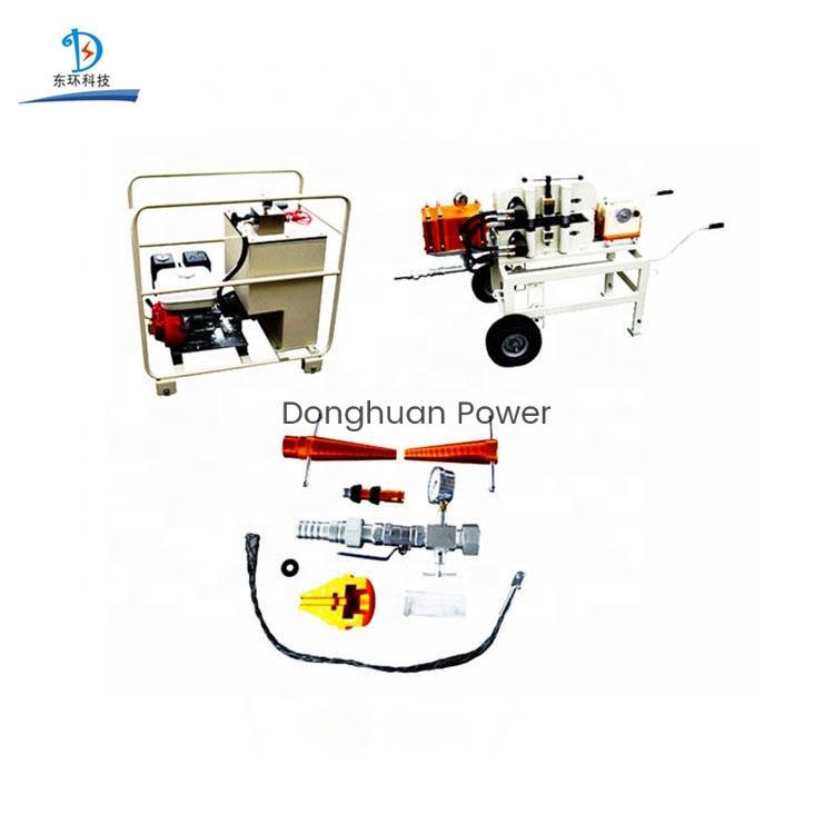 Máquina de juego de soplado de cable industrial de fibra óptica