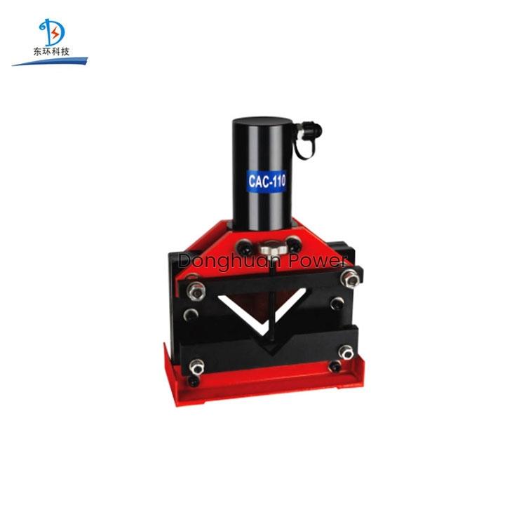 Cortadora de acero de ángulo hidráulico de alta calidad modelo portátil CAC-75110160