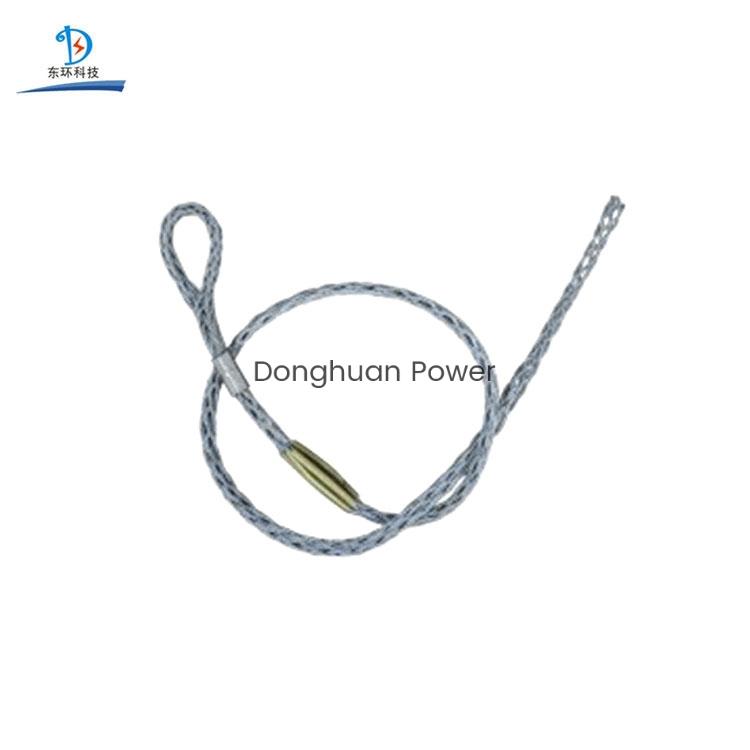 Construcción de línea eléctrica Cable de acero Cable Conector de manga OPGW ADSS Juntas de calcetines de malla