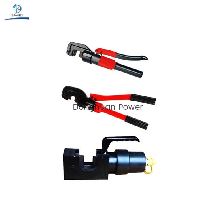 Cortador de cable de barra de acero manual reforzado portátil hidráulico accionado