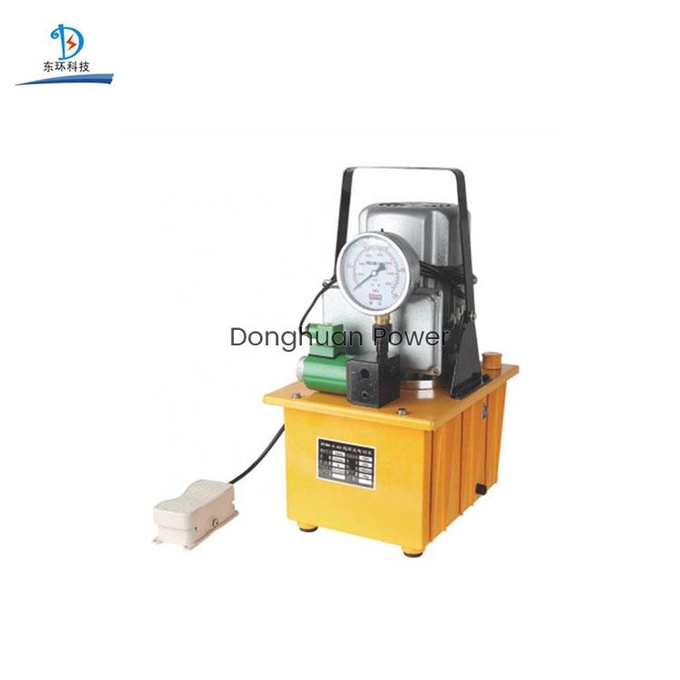 Herramienta de prensado hidráulico de bomba de aceite de doble bucle 70MPa Bomba hidráulica eléctrica de alta presión