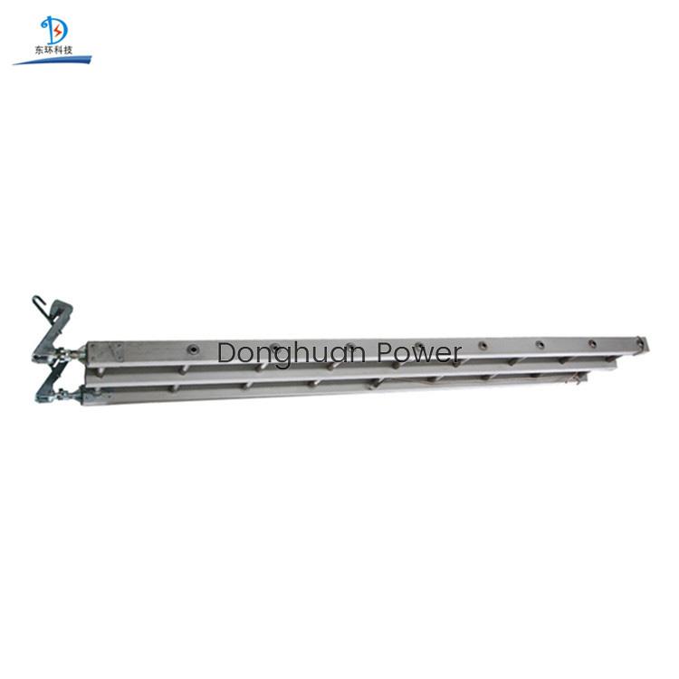 Equipo de encordado Escalera con gancho de suspensión de aleación de aluminio