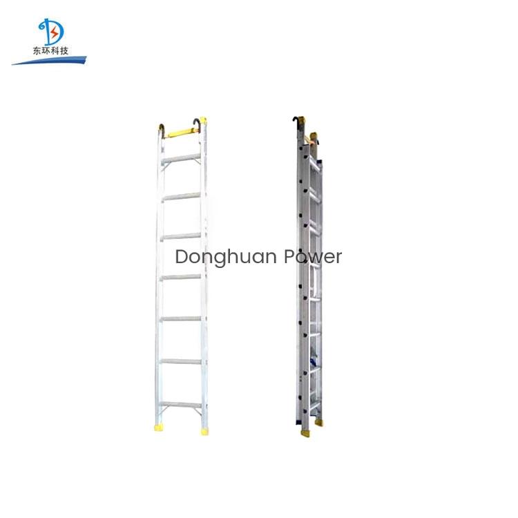Equipo de encordado Escalera de suspensión de aleación de aluminio