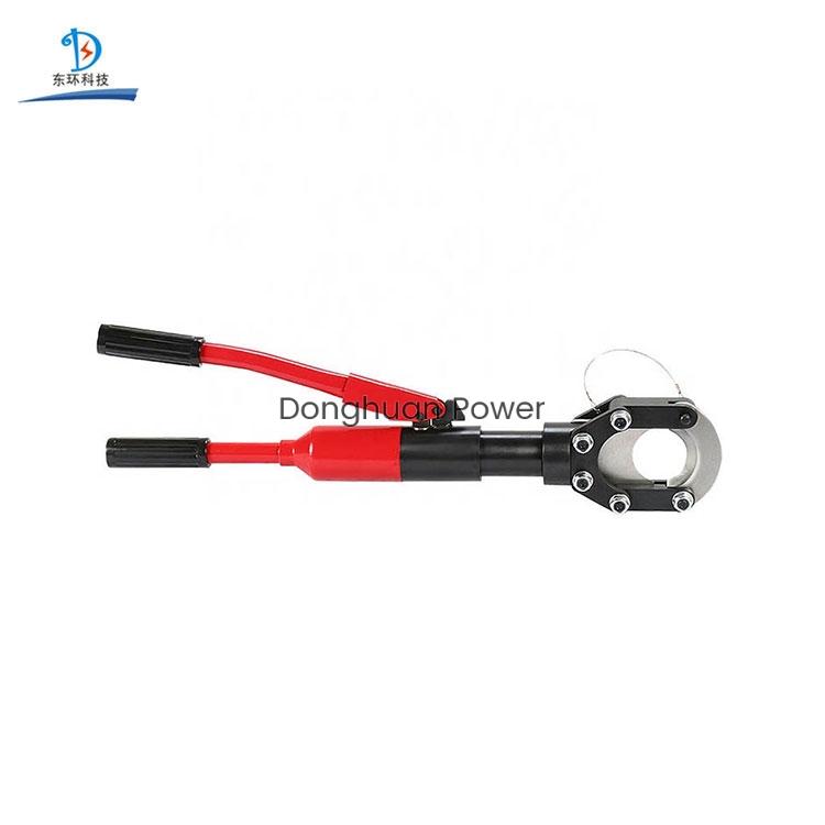 Línea de transmisión Herramientas Cortador de cable hidráulico manual integral