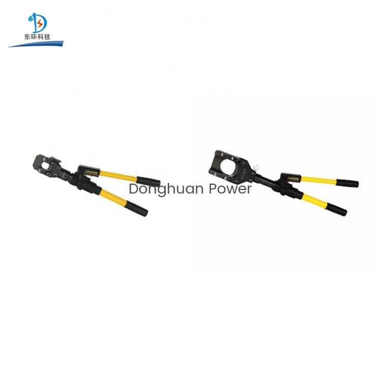 Línea de transmisión Herramientas Manual Cortador hidráulico Cortadores de cables eléctricos
