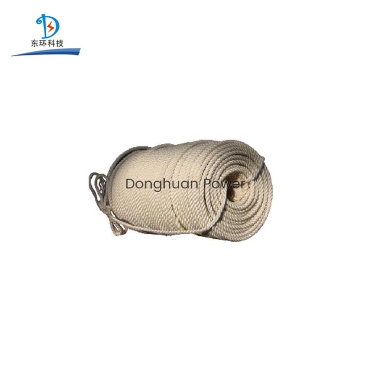 Tejido Cuerda con aislamiento de seda Construcción ligera Cuerda de seguridad