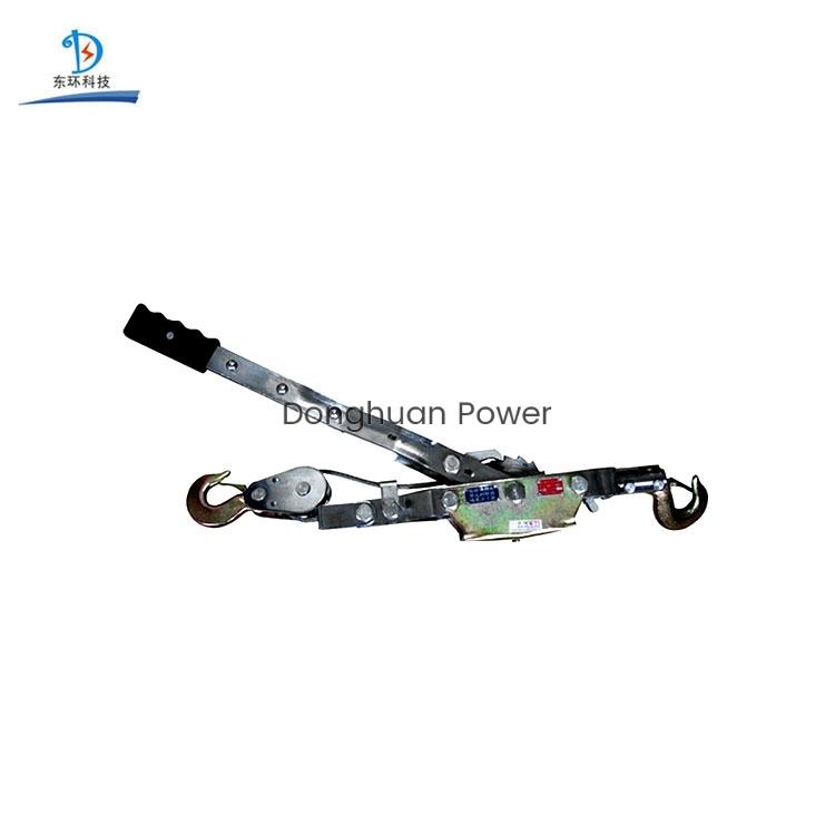 Cuerda de alambre Cable eléctrico Tensor manual Doble gancho