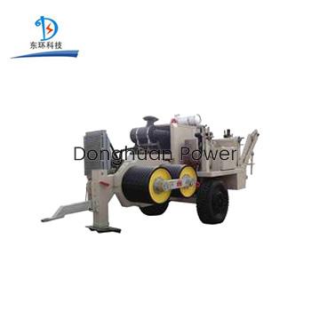 Máquina de extracción hidráulica con motor diesel para líneas de transmisión / construcción de potencia, SA-YQ220