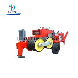 Modelo de SA-YQ180 SA-YQ180 del tensor hidráulico del tendido de la línea de alta tensión con el motor diesel