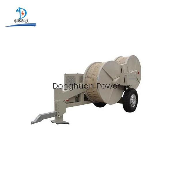 Tensor de cable hidráulico 70KN Equipo de tendido de conductores de transmisión aérea