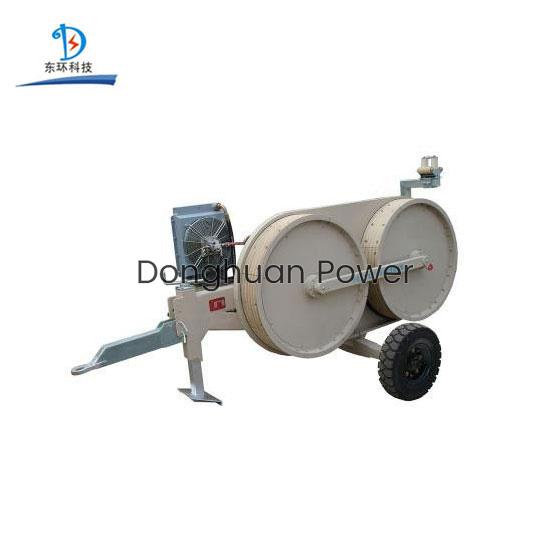 Tensor hidráulico extractor de encuadernación, 3T Power Construction Conductor String Machine